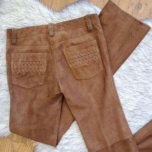 Ralph Lauren Black Label Brown Leather Pants 2